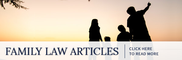 Family Law Articles